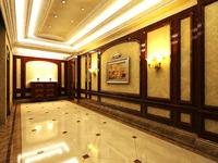 Corridor Spaces 006 3D Model