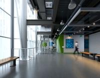 Corridor Spaces 008 3D Model