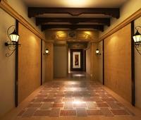 Corridor Spaces 007 3D Model