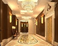 Corridor Spaces 024 3D Model