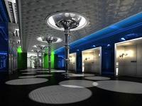 Corridor Spaces 025 3D Model