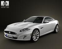 Jaguar XK (X150) 2012 3D Model