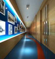 Corridor Spaces 032 3D Model