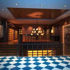 Corridor Spaces 048 3D Model