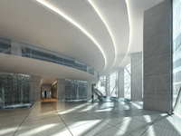 Corridor Spaces 053 3D Model