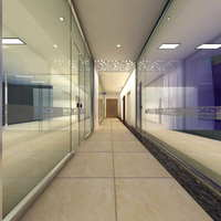 Corridor Spaces 054 3D Model