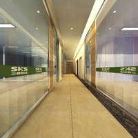 Corridor Spaces 057 3D Model