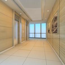 Corridor Spaces 058 3D Model