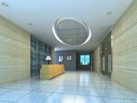 Corridor Spaces 059 3D Model