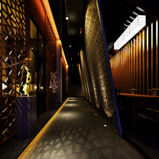 Corridor Spaces 063 3D Model