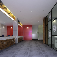 Corridor Spaces 060 3D Model