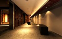 Corridor Spaces 062 3D Model