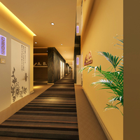 Corridor Spaces 064 3D Model