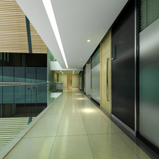 Corridor Spaces 068 3D Model