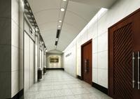 Corridor Spaces 069 3D Model