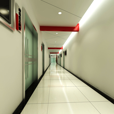 Corridor Spaces 070 3D Model