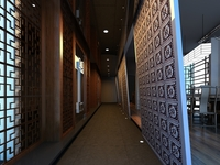 Corridor Spaces 074 3D Model