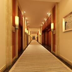 Corridor Spaces 073 3D Model