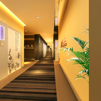 Corridor Spaces 077 3D Model