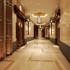 Corridor Spaces 078 3D Model