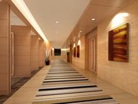Corridor Spaces 080 3D Model
