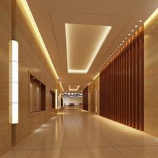 Corridor Spaces 082 3D Model