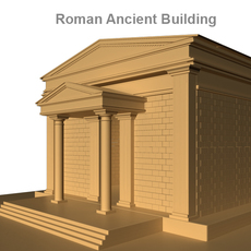 Roman Ancient Building   3D Model