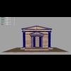 03 23 25 677 roman ancient building m 4