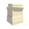 03 24 05 855 square column pedestal 4 4