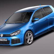 Volkswagen Golf VI 2012 3door 3D Model
