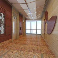 Elevator Spaces 040 3D Model