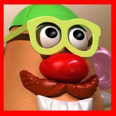 Mister Potato Head Toy 3D Model