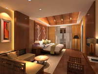 Guest Room 023 3D Model