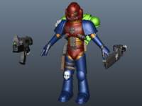 Free Space Marine for Maya 1.1.0