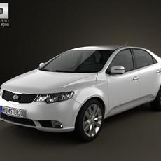 Kia Forte (Cerato, Naza) Sedan 2011 3D Model