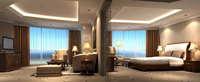 Guest Room 020 3D Model