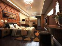 Guest Room 025 3D Model