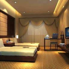 Guest Room 042 3D Model