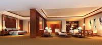 Guest Room 057 3D Model