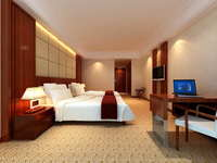 Guest Room 064 3D Model