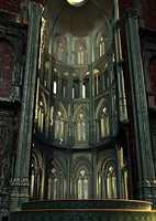 Church 01 3D Model