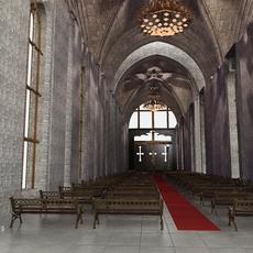 Church 02 3D Model