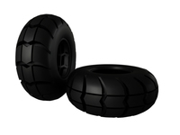 Big Foot Tire   3D Model