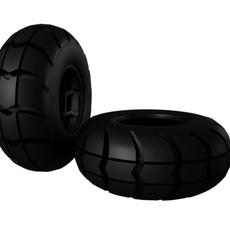 Big Foot Tire   3D Model