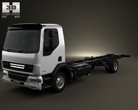 DAF LF Chassis Truck 2011 3D Model