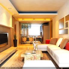 LivingRoom 026 3D Model