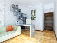 LivingRoom 034 3D Model