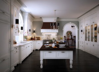 White Kitchen 3D Model