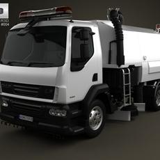 DAF LF Road Cleaner 2011 3D Model
