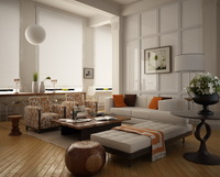 LivingRoom 038 3D Model